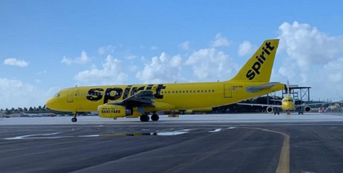 Spirit Airlines is using Kimco land for new HQ,