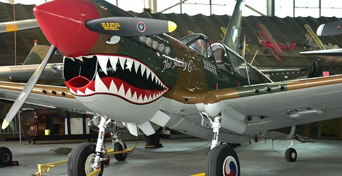 Halloween Haunted Hangar at the American Airpower Museum.