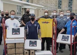 Fealgood Foundation, IHOP, Barasch Mcgarry Deliver Breakfast to Sheriff's Office