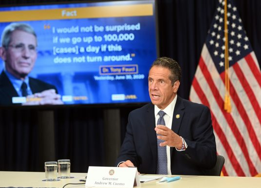 Governor Cuomo Announces Phase Three Indoor Dining Postponed in New York City