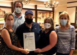 Suffolk Legislator Sarah Anker, Heritage Trust Honors Jaime Baldassare's Service to Mount Sinai Community