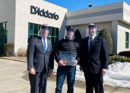 Face Shield Donation from Instrument Accessories Manufacturer is Music to Suffolk Legislature's Ears